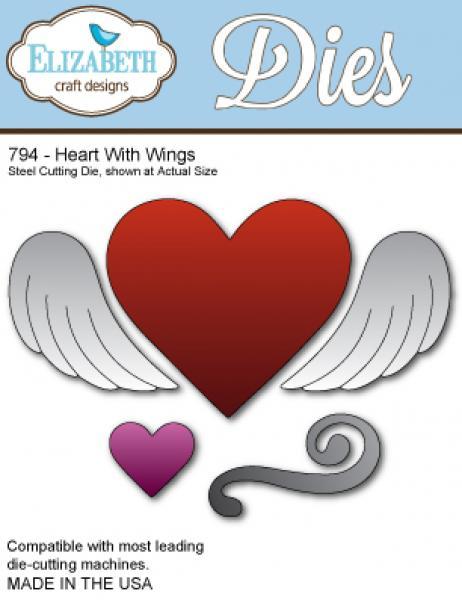 Lõiketera Elizabeth Dies Heart with wings