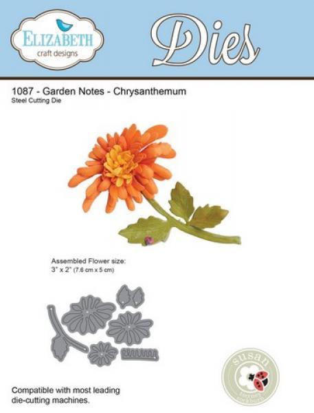 Lõiketera Elizabeth Dies Garden Notes - Chrysanthemum