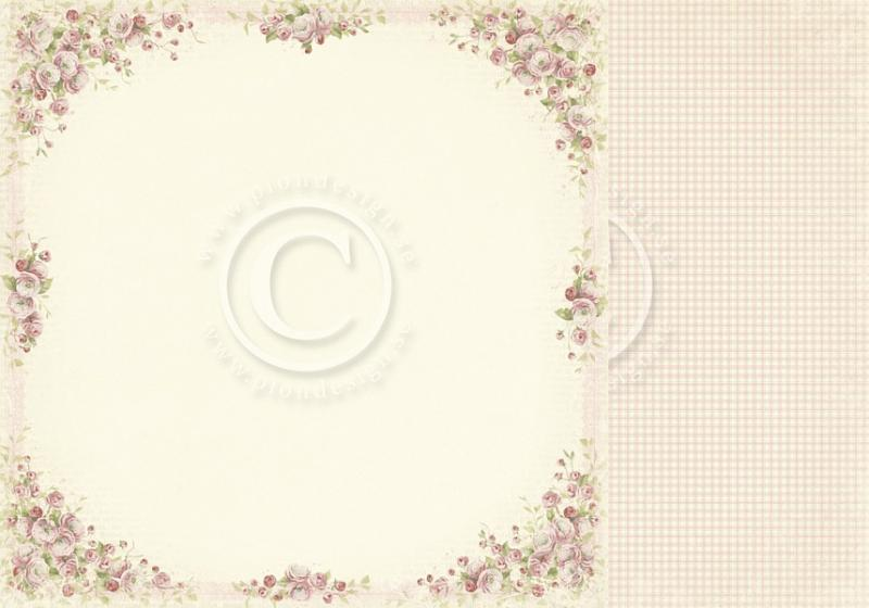 Disainpaber 30x30 Pion Design Easter Greetings Cherry blossom