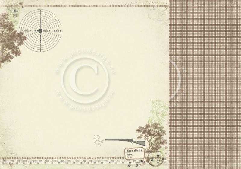 Disainpaber 30x30 Pion Design Mister Tom's Treasures Bullseye