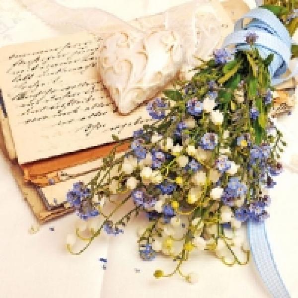 Salvrätikud Ambiente Love bouquet 33x33cm, 20tk