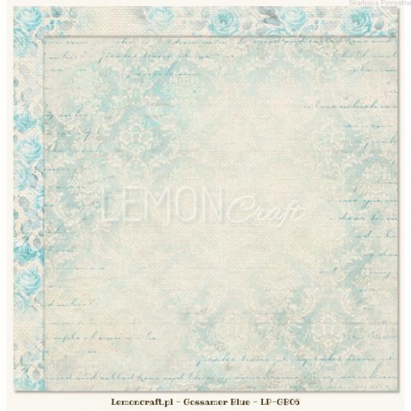 Disainpaber 30x30cm LemonCraft Gossamer Blue 06