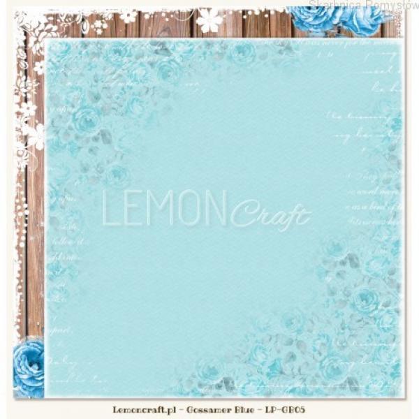Disainpaber 30x30cm LemonCraft Gossamer Blue 05