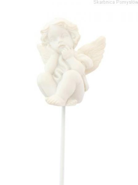 ScrapBerry's Mounted Polymer Angel Joy