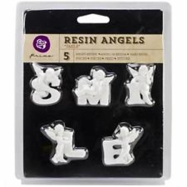 Prima MarketingResin Angels Smile 5pcs
