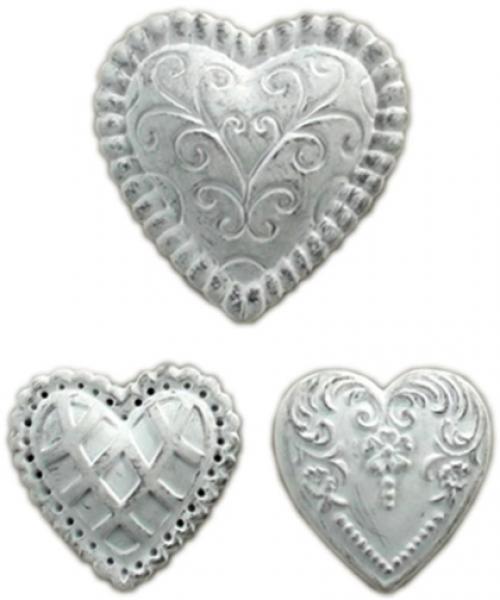 Kipsist südamed 3tk