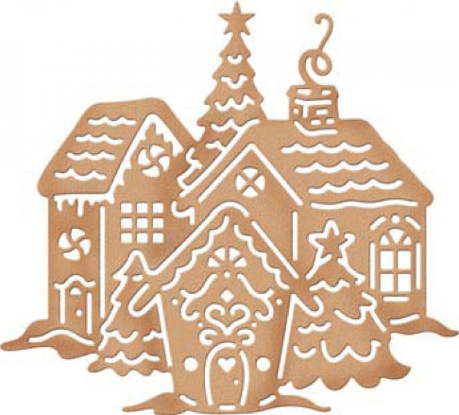 CottageCutz Dies - Gingerbread Village