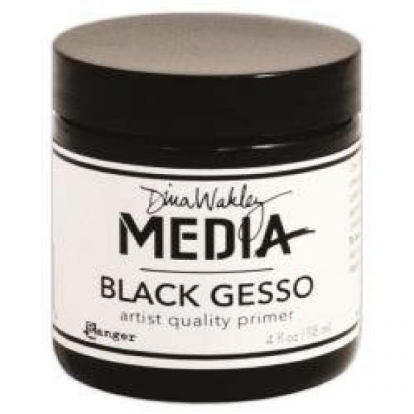 Ranger Dina Wakley Media Black Gesso