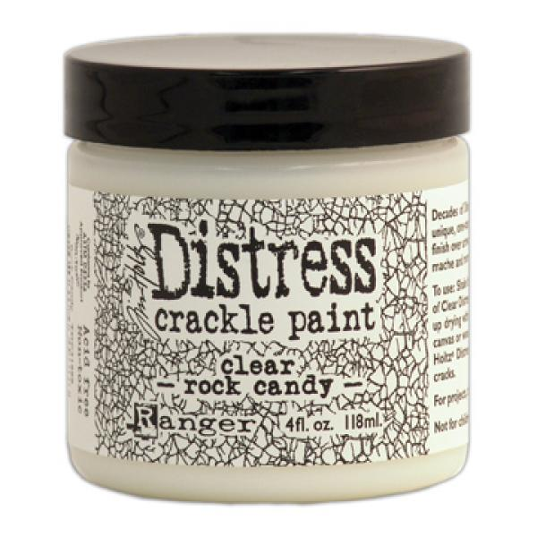 Ranget Tim Holtz Distress crackle paint clear rock candy