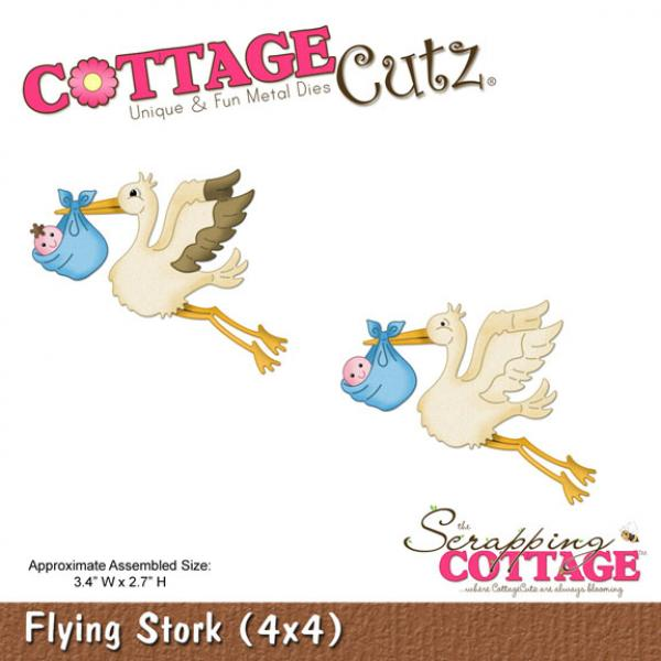 CottageCutz Dies - Flying Stork