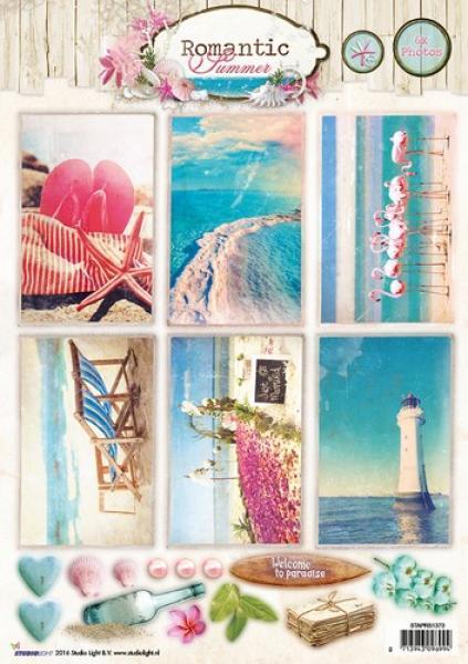 Studio Light Cutting A4 Romantic Summer nr 1373