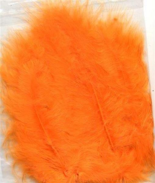 Hobby & Crafting Fun Feathers Marabou orange 15pcs