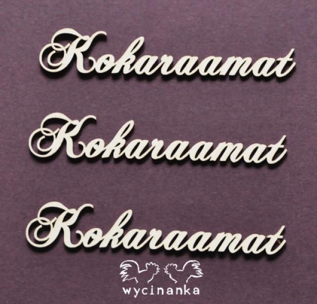 Chipboard - Kokaraamat