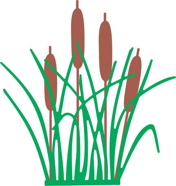 Cheery Lynn Designs Dies - Cattails and Reeds