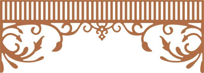 Cheery Lynn Designs Dies - Southern Charm Valance