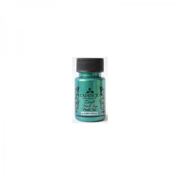 Metallik värv DorA 50ml/ 141 emerald