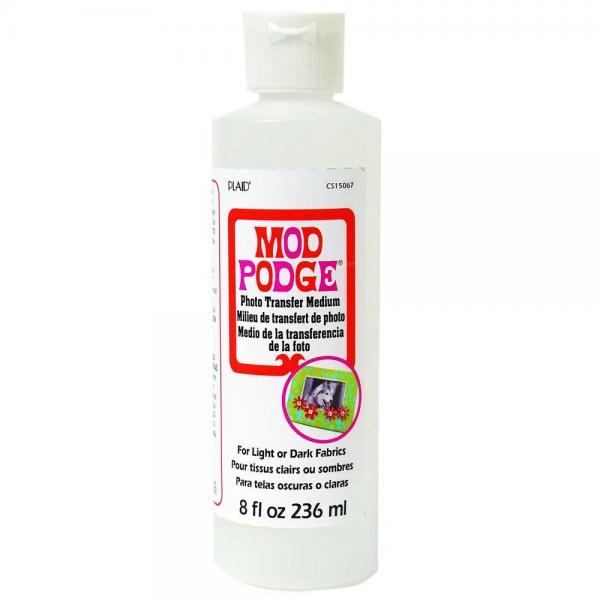 Plaid Mod Podge Photo Transfer Medium