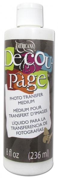 DecoArt Americana Decoupage photo transfer medium 236ml
