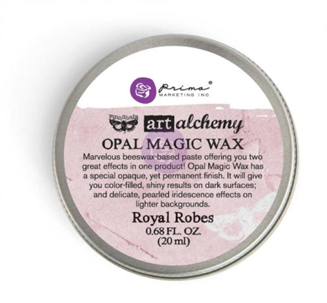 Prima Marketing Art Alchemy - Opal Magic Wax - Royal Robes