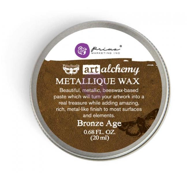 Prima Marketing Art Alchemy - Metallique Wax - Bronze Age