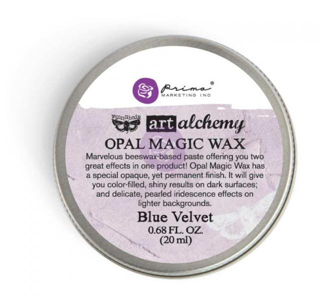 Prima Marketing Art Alchemy - Opal Magic Wax - Blue Velvet