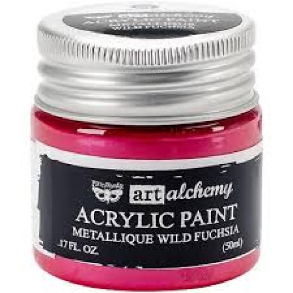 Prima Marketing Art Alchemy - Acrylic Paint - Metallique Magen