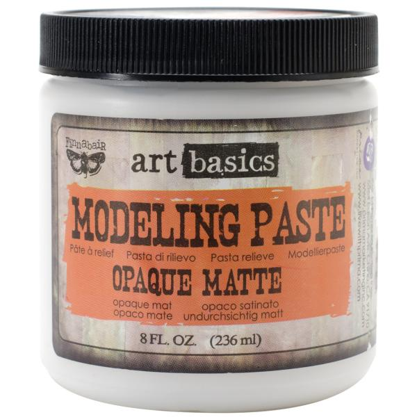 Prima Marketing Art Basics Modeling Paste Opaque Matte