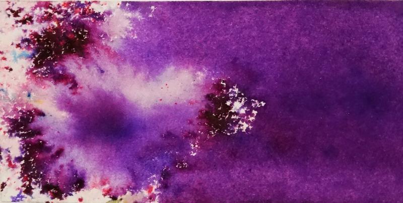 ColourCraft Brusho Colours 15g Purple