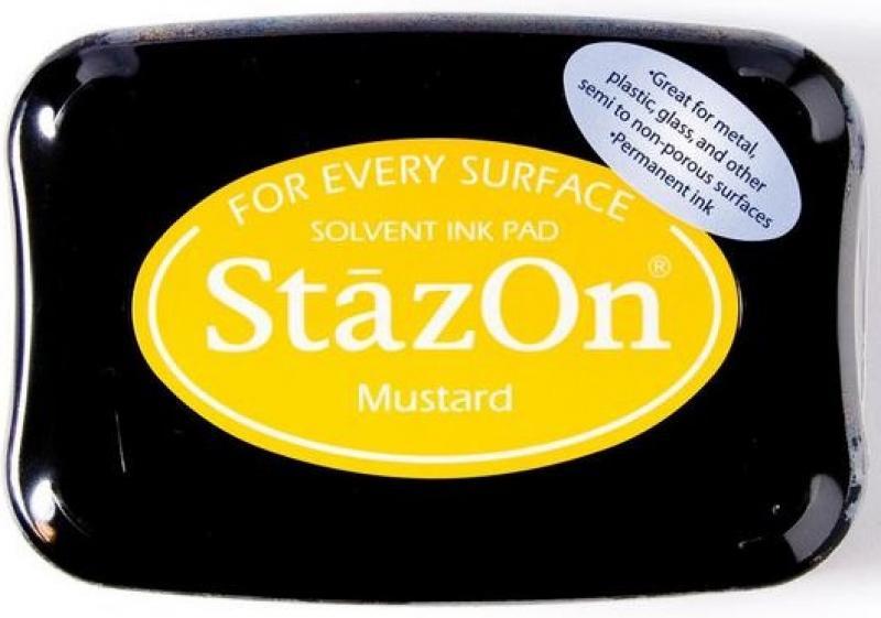 Templivärv StazOn Mustard
