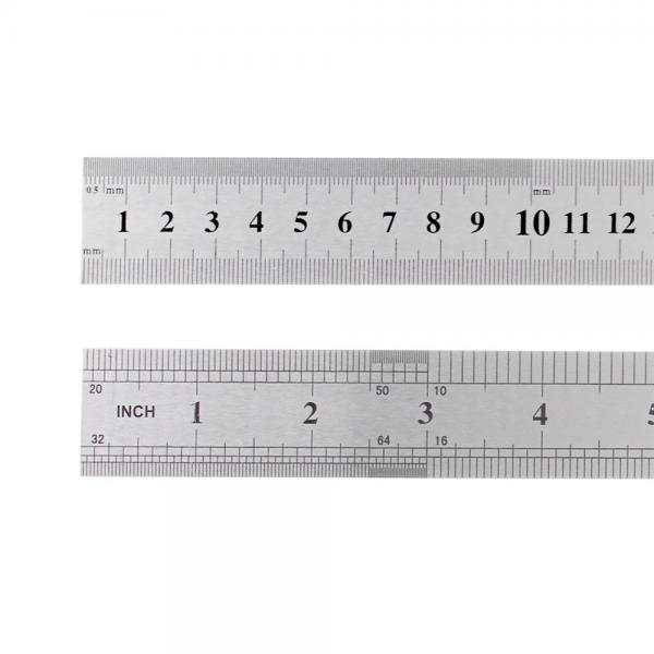 Metallist joonlaud 30cm