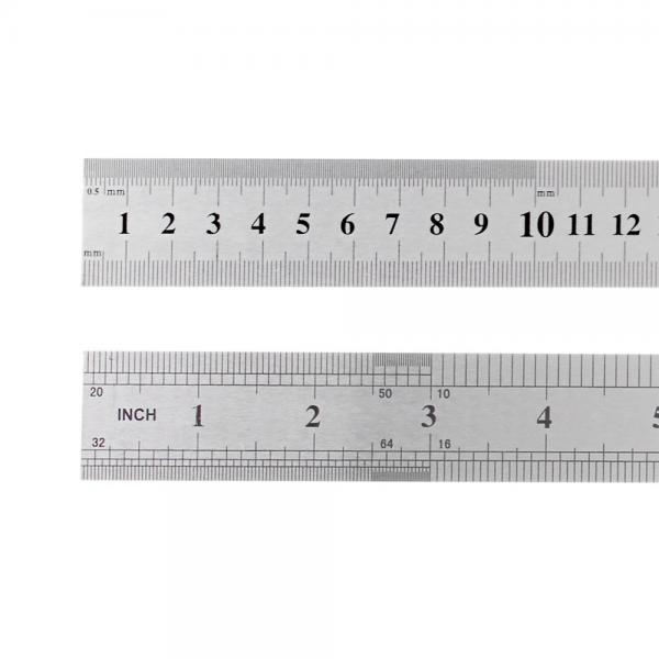 Metallist joonlaud 15cm