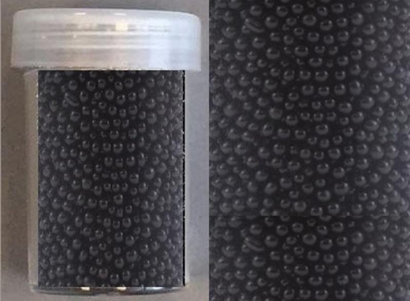 Hobby & Crafting Fun mini pearls (holeless) 0,8-1,0mm 22g black