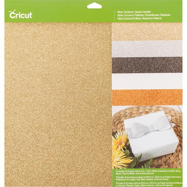 Cricut Cardstock Glitter Classics Sampler