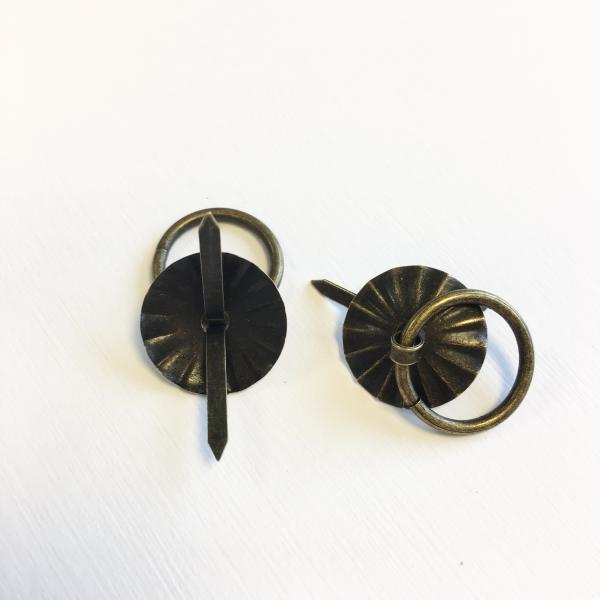 Metallist sahtlikäepide 1tk pronks