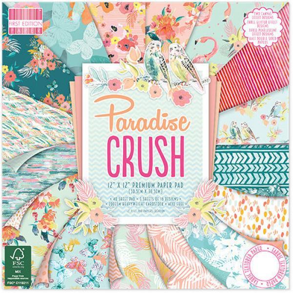 Paberiplokk 30x30 First Edition Pad Paradise Crush