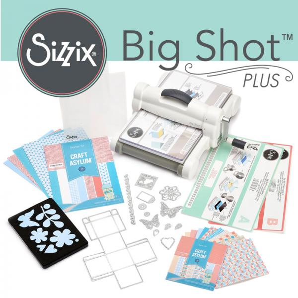 Sizzix Big Shot Plus A4 Essentials Kit