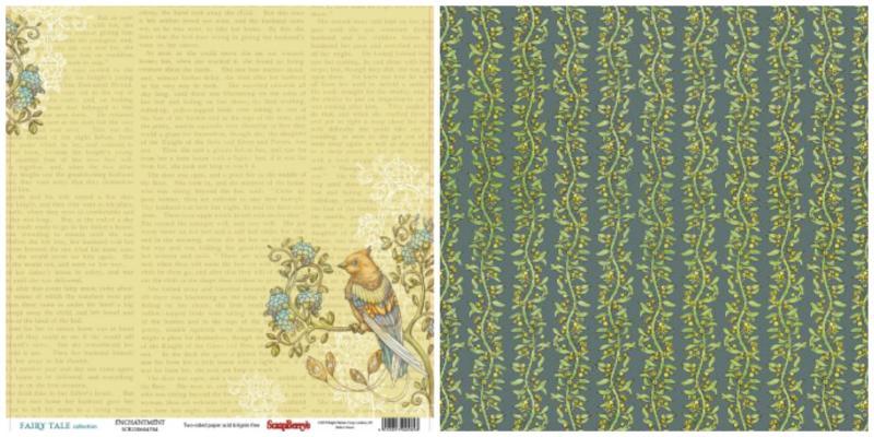 Paber 30x30cm, ScrapBerrys SCB220604704, Fairy Tale collection, Enchantment