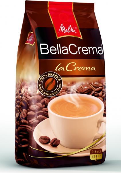 """MELITTA kohvioad """"BellaCrema LaCrema"""" 1000g"""