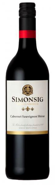 Simonsig Cabernet Sauvignon/Shiraz 2016 75cl 14%