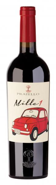 Pratello Mille1 Rosso BIO 2015 75cl 13,5%