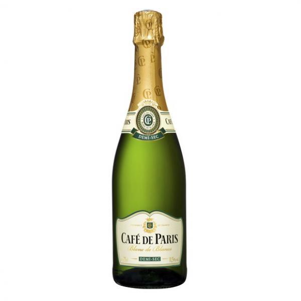 Cafe de Paris Blanc deBlancs Demi-Sec 75cl 11,5%