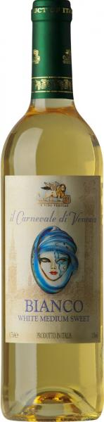 IL Carnevale di Venecia Medium Sweet White Wine 75cl 10%