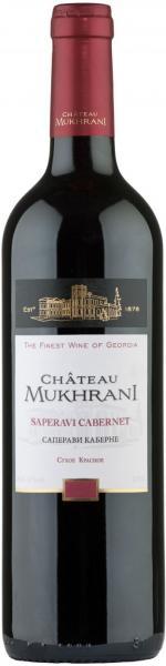 Mukhrani Saperavi Cabernet Dry Red 75cl 12,5%