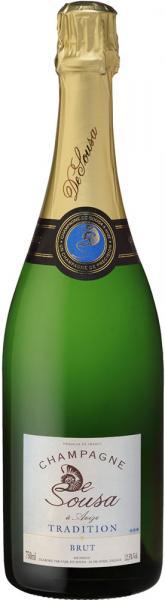 Champagne de Sousa Bio Brut Tradition 75cl 12,5%