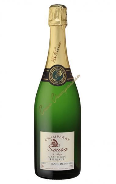 Champagne de Sousa Bio Gr.Cru Bl. de Bl. Magnum 150cl 12,5%