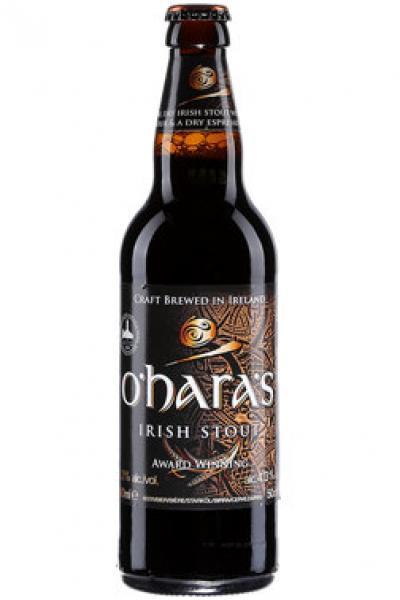 O`Hara`s irish Stout 50cl 4.3%