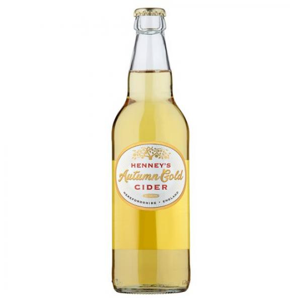 Henney's Cider Autumn Gold 4,5% 50cl