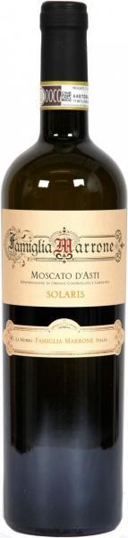 Famiglia Marrone Moscato D´Asti Solaris DOCG 5% 75cl