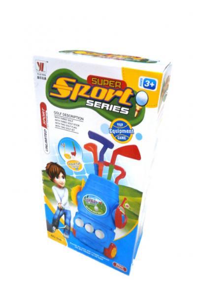 Laste golfimängu komplekt