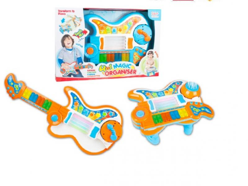 Magic musical instrument toy 4 in 1
